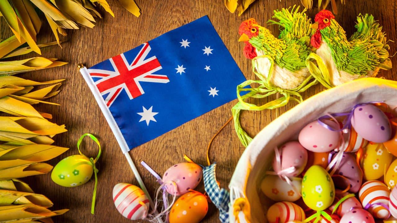 easter sunday in australia