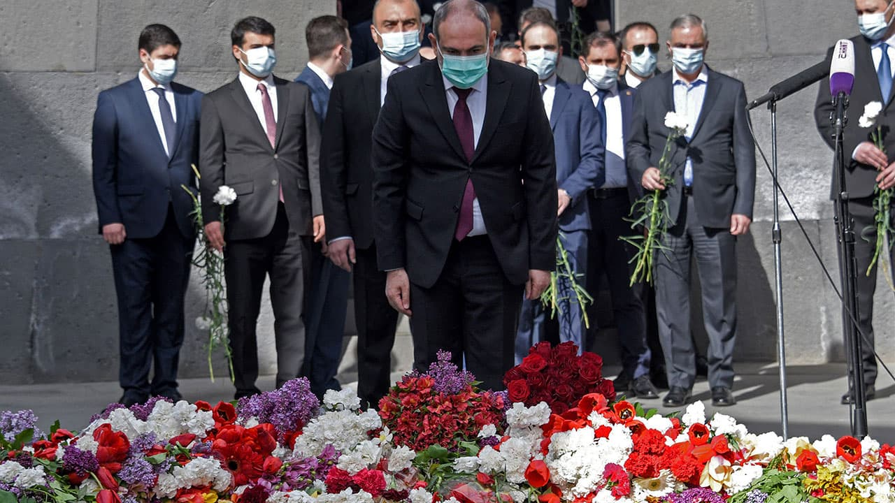 Genocide Remembrance Day in Armenia