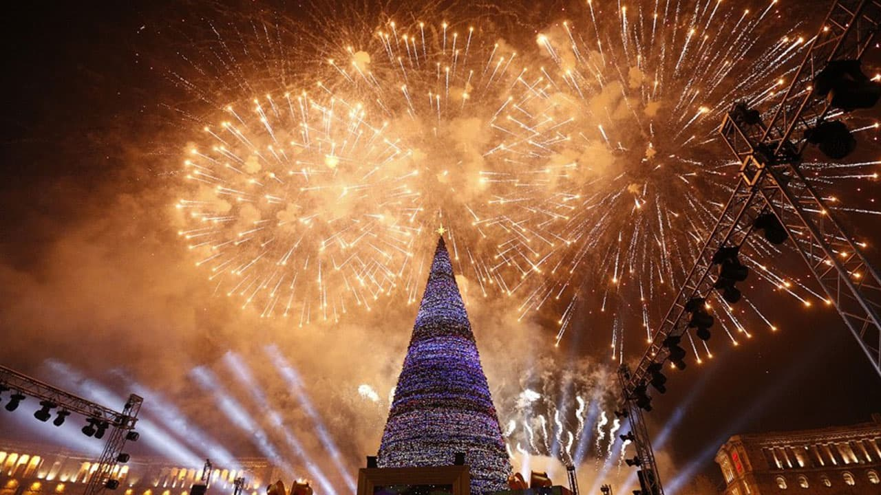New Year's Eve in Armenia
