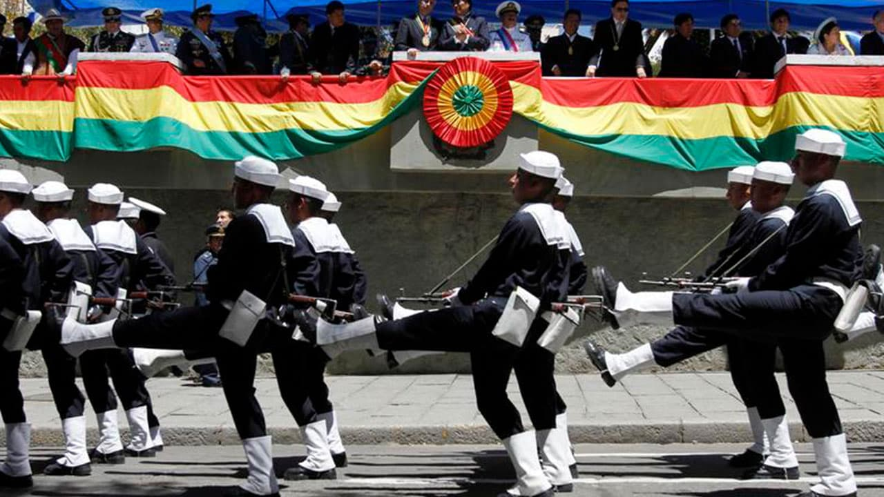 Day of the Sea in Bolivia