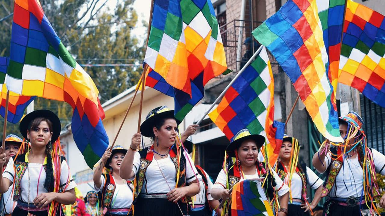 Flag Day in Bolivia