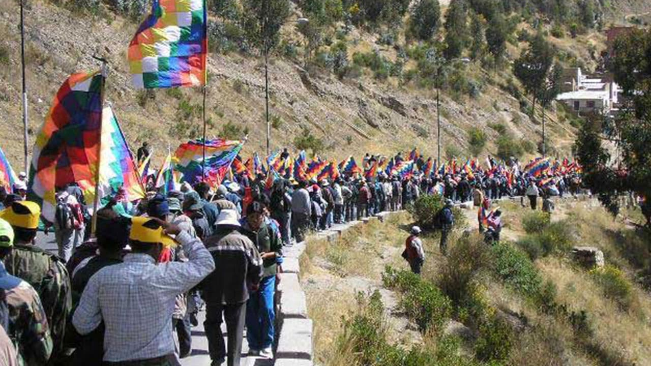 Indigenous Resistance's Day in Bolivia