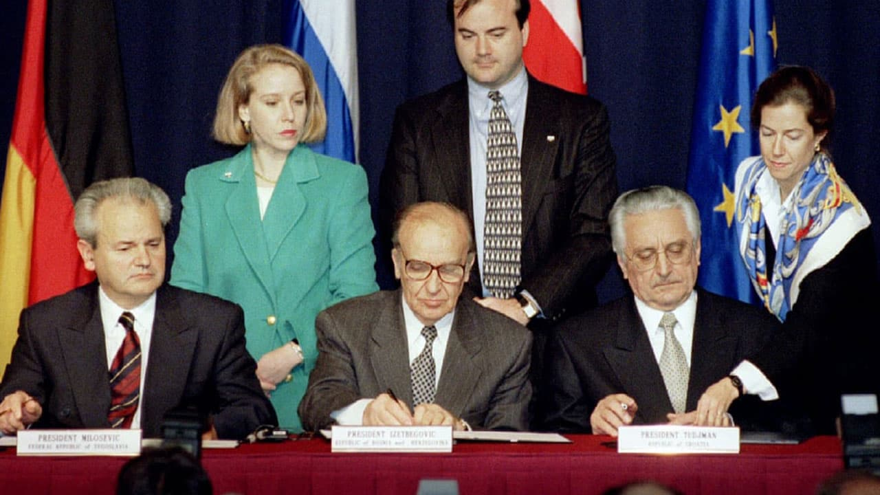 Dayton Peace Agreement Day in Bosnia and Herzegovina