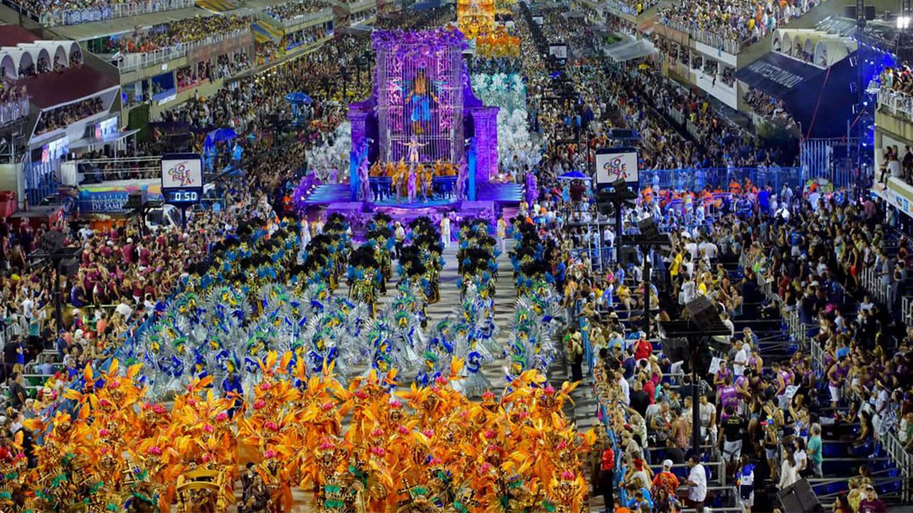 Carnival Saturday in Brazil