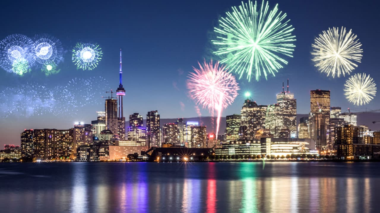 New Year's Eve	in Canada