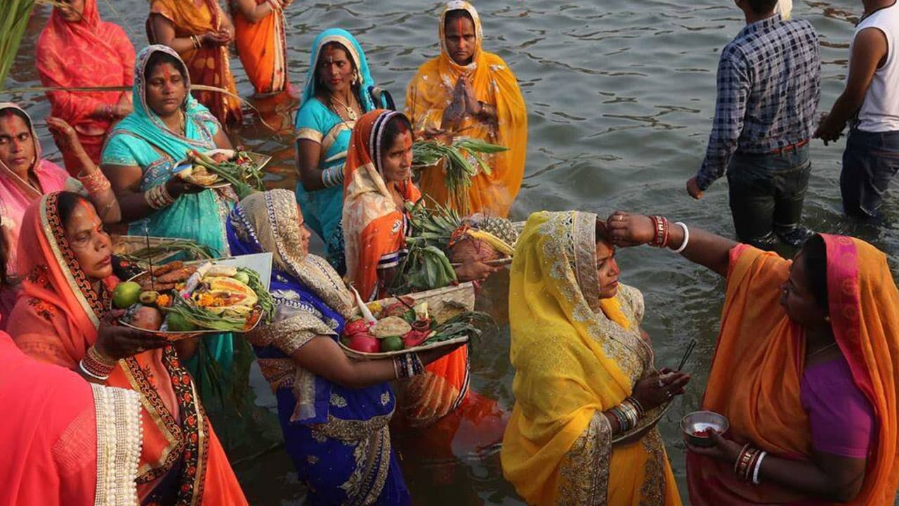 Chhat Puja	in India