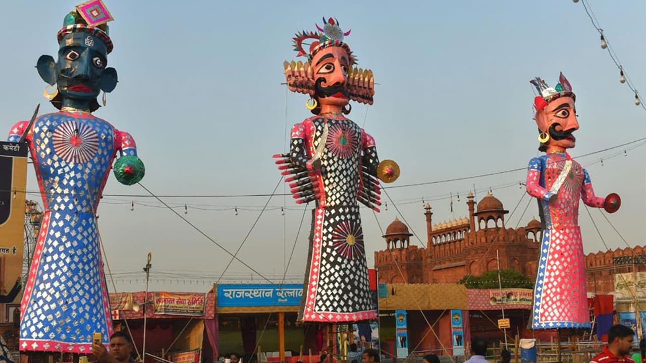 Dussehra	in India