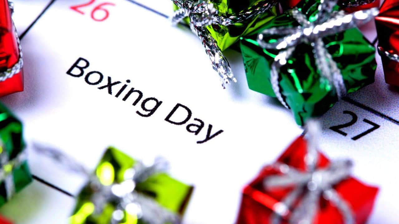 Boxing Day	in United Kingdom