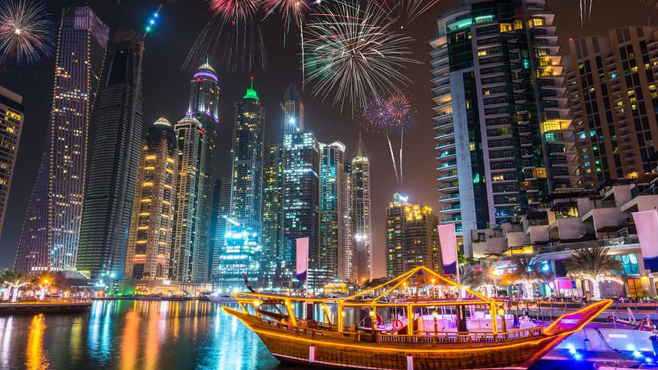 New Year's Day Celebrations in UAE