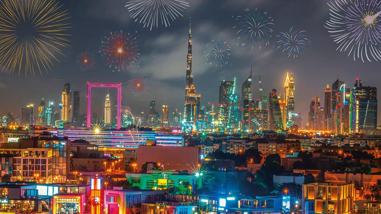 New Year's Eve in UAE